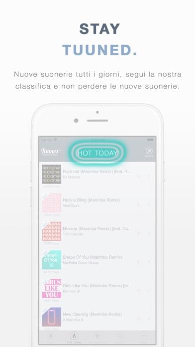 Scarica Suonerie Tuunes per iPhone per PC