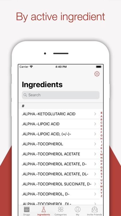 Compendium - Drug Rx Pharmacy screenshot-6