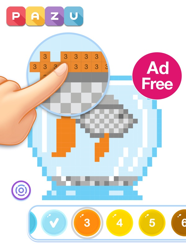 Pixel Art Coloring For Kids - Online Game Hack And Cheat Gehack.com