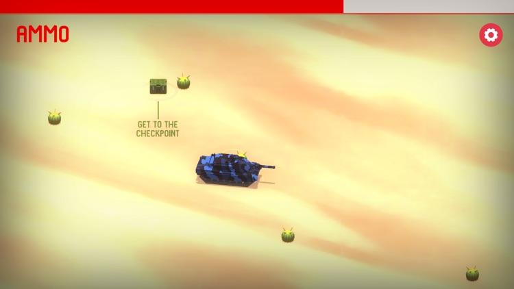 Tank vs Cactus Army Wars