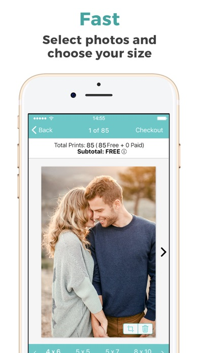 FreePrints – Photos Delivered Screenshot on iOS