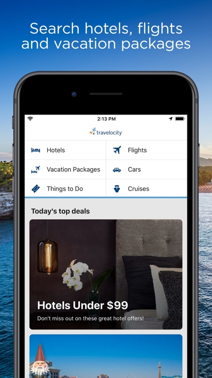 Travelocity Hotels & Flights screenshot-0