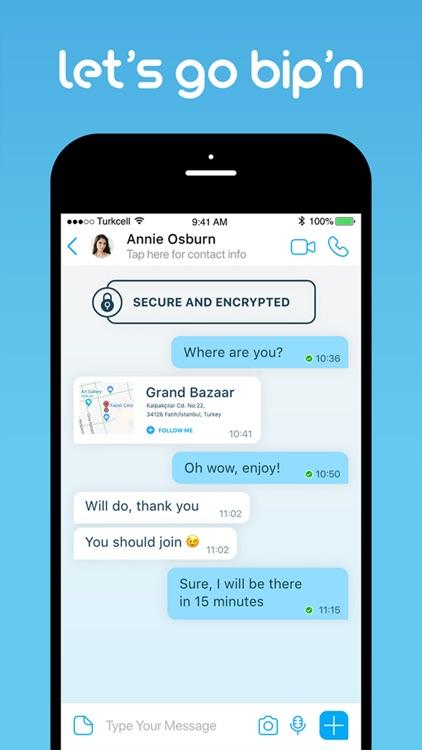 BiP Messenger screenshot-0