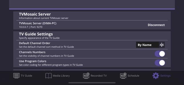 TVMosaic im App Store
