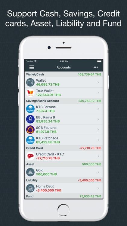 Money Easy - Expense Tracker screenshot-4
