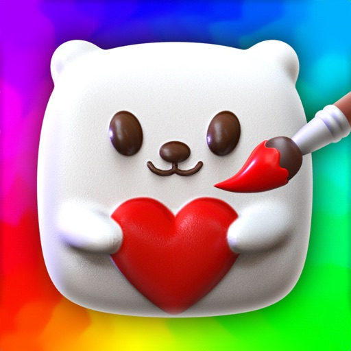 Squishy Magic: 3D Art free software for iPhone and iPad