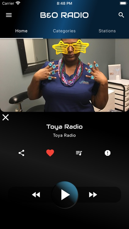 B  and O Radio screenshot-4