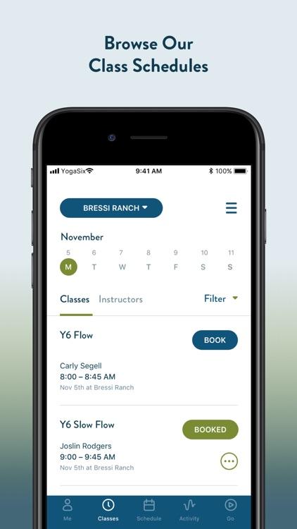 YogaSix screenshot-3