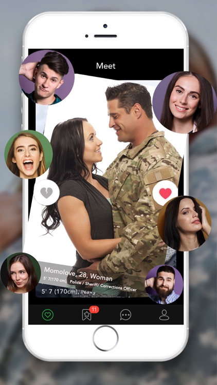 Military Dating App - MD Date