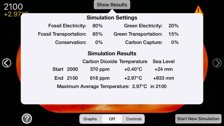 A Climate Change Simulation screenshot-7