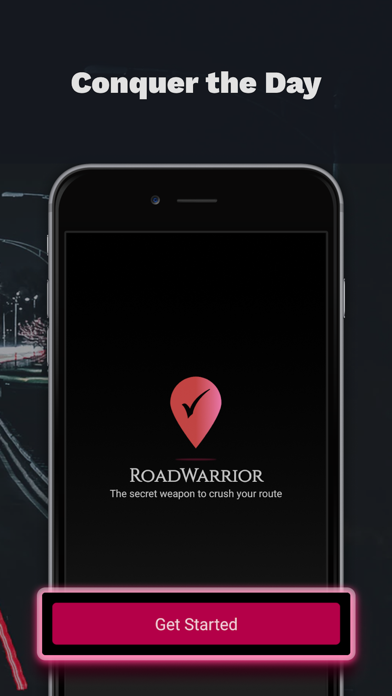 RoadWarrior Route Planner Screenshot