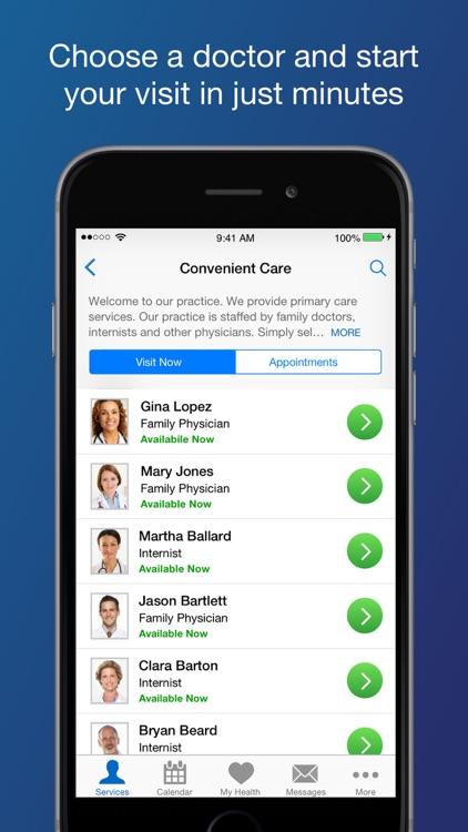 Convenient Care Now screenshot-4