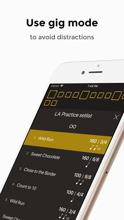Andante Metronome - Tempo App screenshot-5