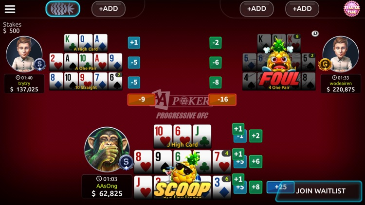 AA POKER:Texas Holdem,Omaha screenshot-5