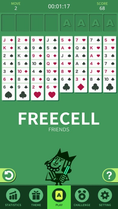 FreeCell Friends