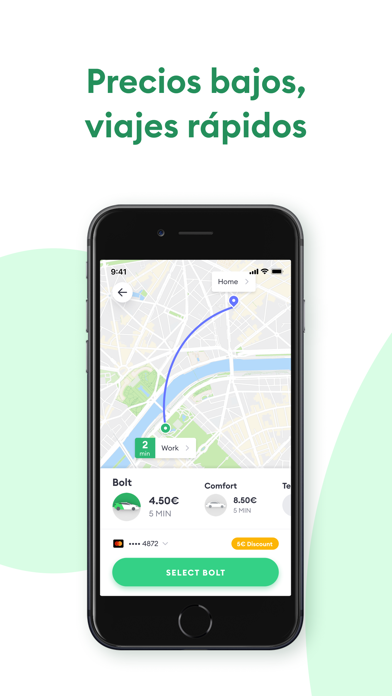 Screenshot for Bolt (Taxify) in Dominican Republic App Store
