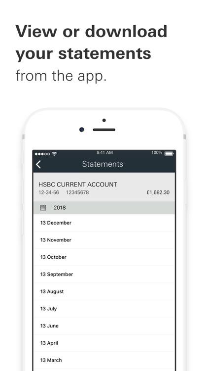 HSBC UK Mobile Banking screenshot-3
