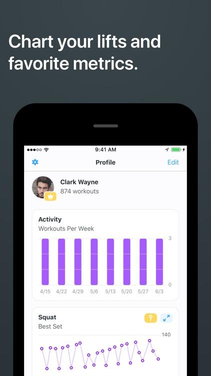 Strong Workout Tracker Gym Log screenshot-4