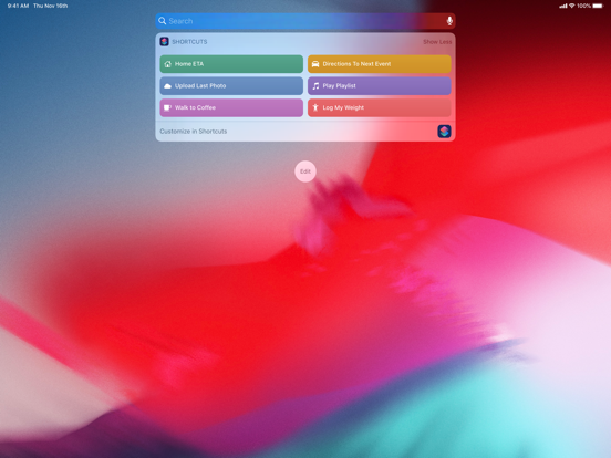 Shortcuts screenshot 10