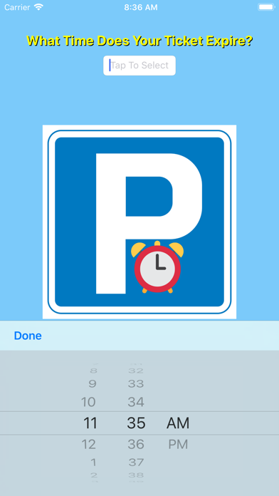 Parking Expiry Reminder screenshot one