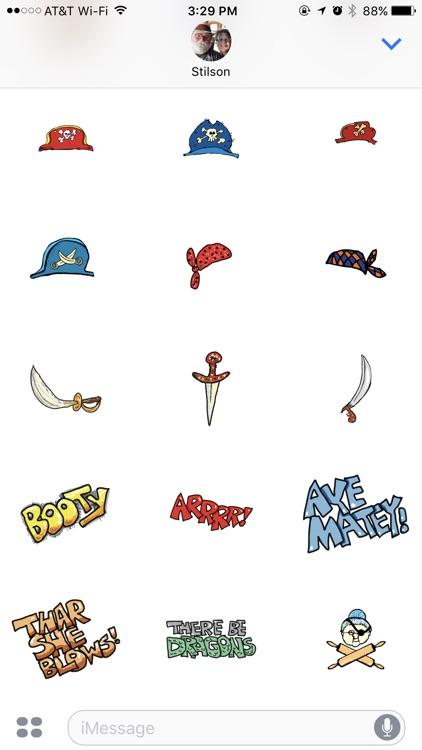 Scallywags Stickers screenshot-4