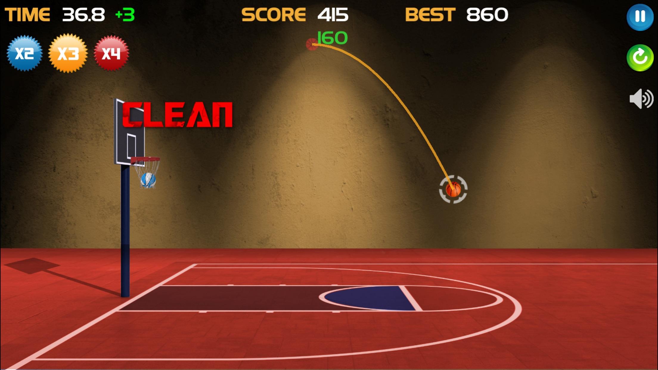 Power Basketball - Ball Arcade Screenshot