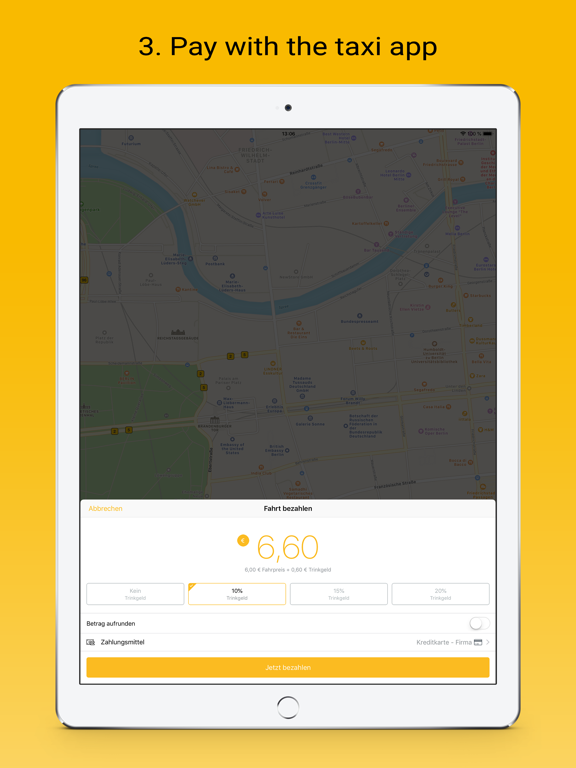 taxi.eu – Taxi App for Europe screenshot