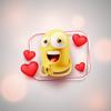Emojis Animated Stickers Love