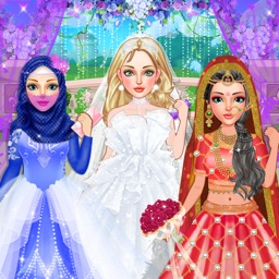 Bride Wedding Fashion Dressup