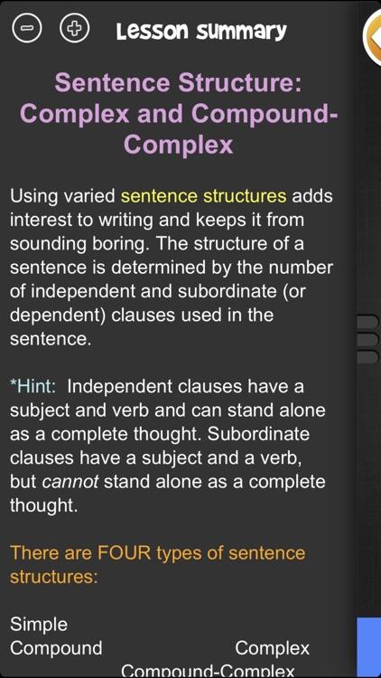 iTooch 7th Grade Language Arts screenshot-8