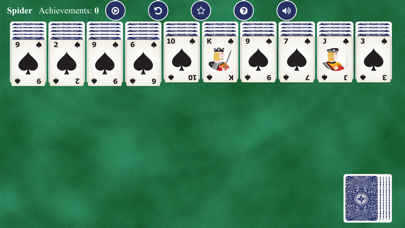 Spider Solitaires Card screenshot 4