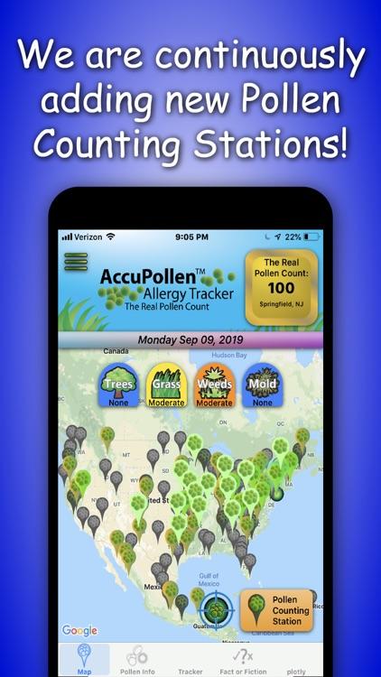 AccuPollen™ Allergy Tracker screenshot-4