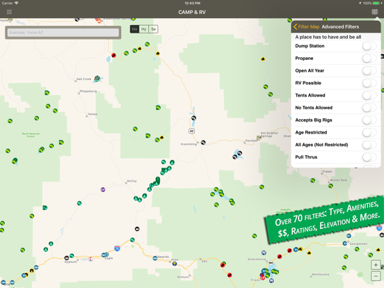 Camp & RV - Tent Camping to RV Parks screenshot
