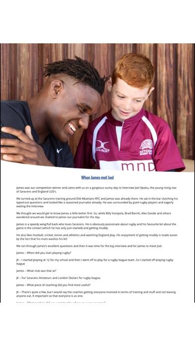 NU Generation Rugby Magazine screenshot 3