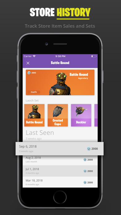 TraX - Tracker for Fortnite by Daniel Murphy (iOS, United States