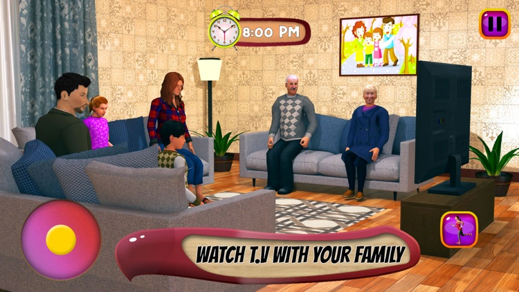 Virtual Mother: Baby Care Game screenshot-3