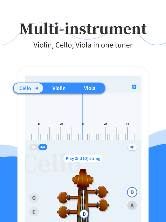 Simply Tuner - Violin, Cello | App Price Drops