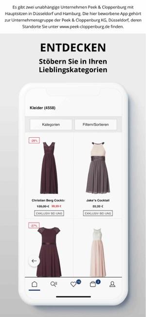 online store 60818 4e9dc Peek&Cloppenburg* Fashion Shop im App Store