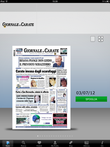 Il Giornale di Carate - náhled