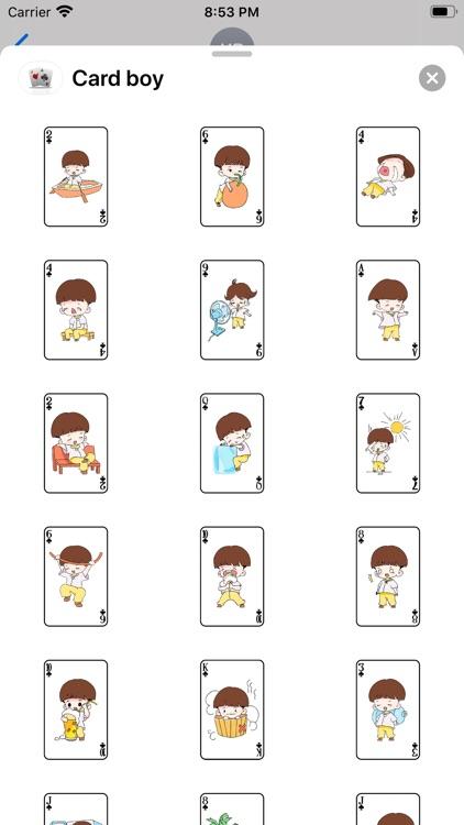 Card boy