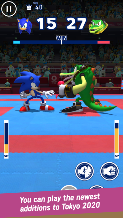 Sonic at the Olympic Games screenshot 5