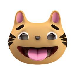 Max - 3D Cat Sticker Pack