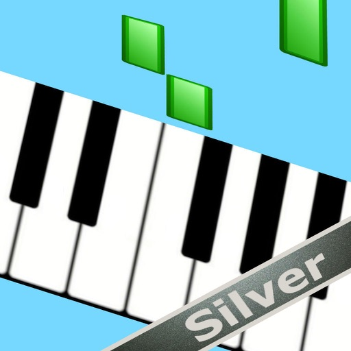Kids playing piano silver