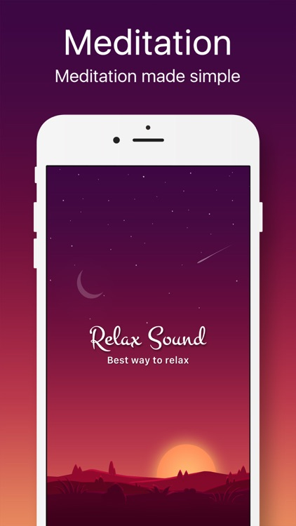 Sleep Sounds, Relax Meditation screenshot-0