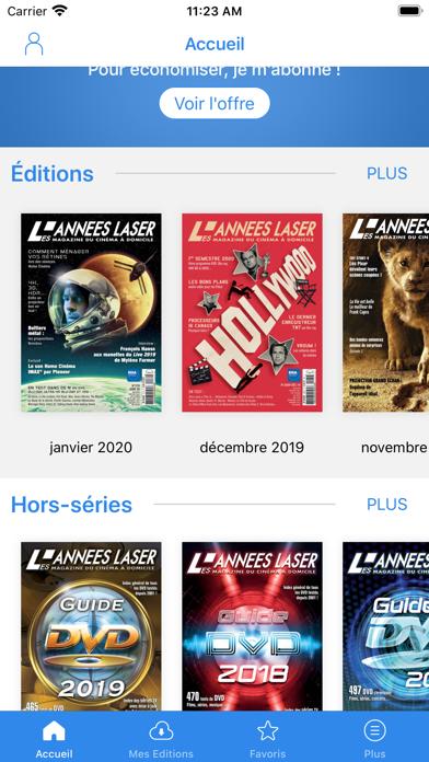 Années Laser (Les) Screenshot