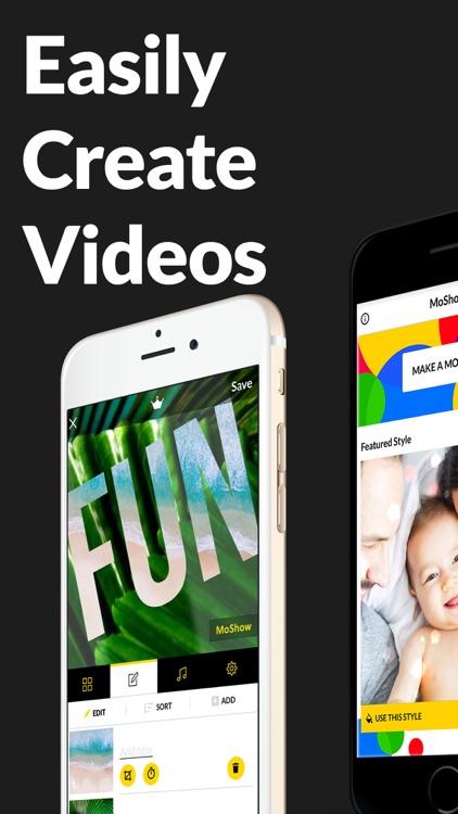 MoShow Slideshow Photo & Video screenshot-7