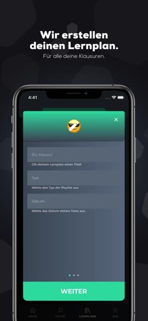simpleclub - Die Lernapp Screenshot