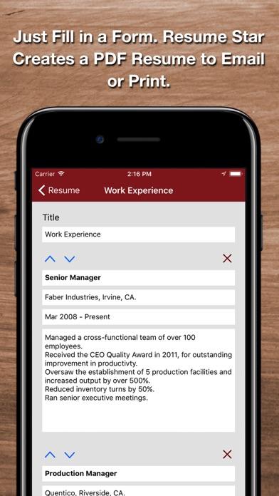Download Resume Star 2: Pro CV Designer for Pc