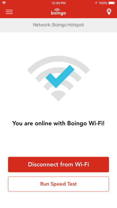 Boingo Wi-Finder Screenshot
