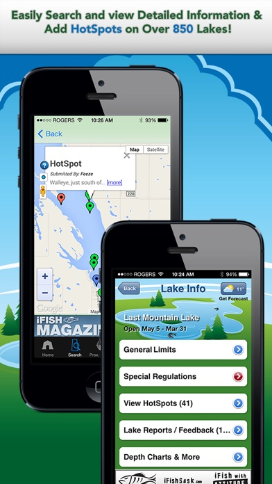 Screenshot for iFish Saskatchewan in Germany App Store